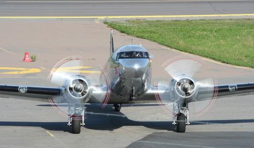 Daktoa Norway Douglas C-53D LN-WDN