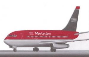 MetroJet Boeing 737-200