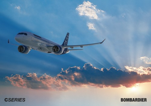 Bombardier CSeries 300 (foto: Bombardier)
