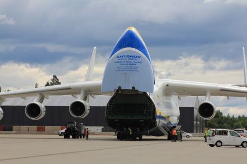 Greit med kontaktinfo til Antonov Airlines - om man skulle ha behov for å frakte et par hundre tonn last med fly